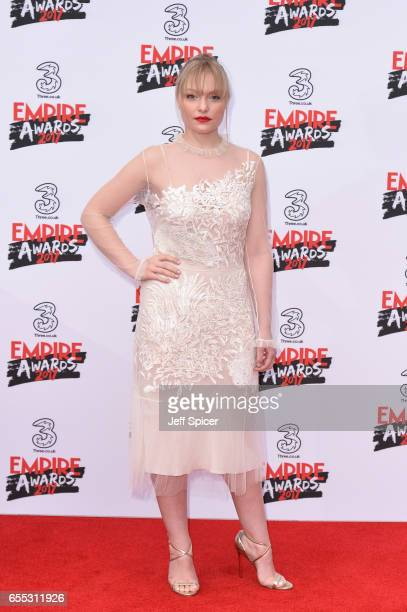 Ciara Charteris attends the THREE Empire awards at The Roundhouse on March 19 2017 in London England