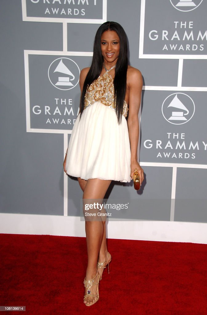 Ciara during The 49th Annual GRAMMY Awards - Arrivals at Staples Center in Los Angeles, California, United States.