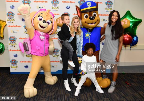 Ciara Future Zahir Wilburn and guests attend Nickelodeon And VStar Entertainment Group's PAW Patrol Live 'Race to the Rescue' at Dolby Theatre on...