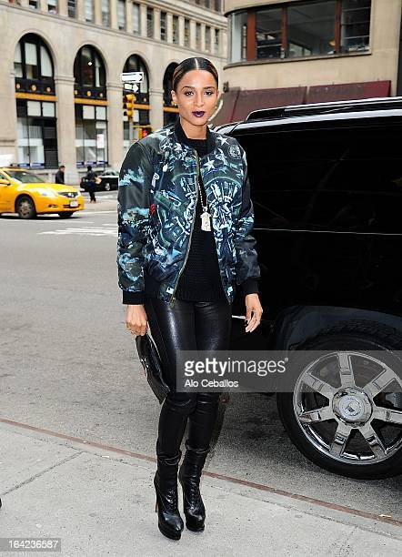 Ciara is seen on March 21 2013 in New York City