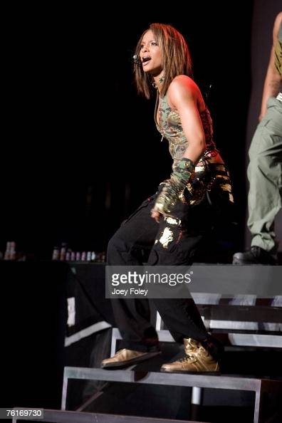 Ciara performs at Screamfest tour on August 17 2007 in IndianapolisIN