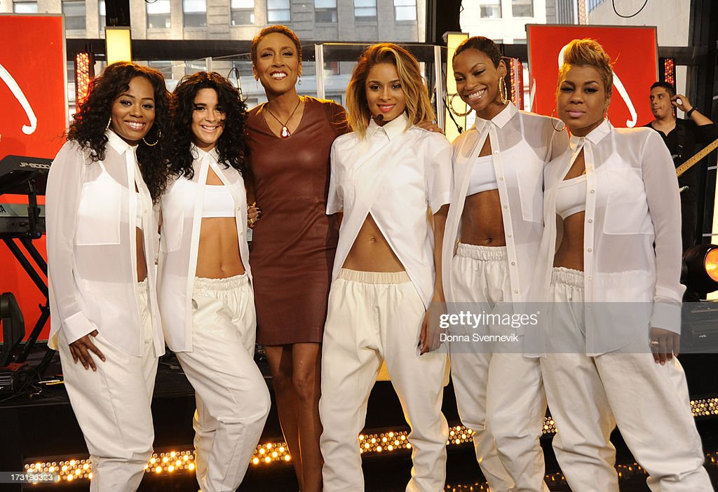 AMERICA - Ciara performs live on 'Good Morning America,' 7/9/13, airing on the ABC Television Network. (Photo by Donna Svennevik/ABC via Getty Images) ROBIN