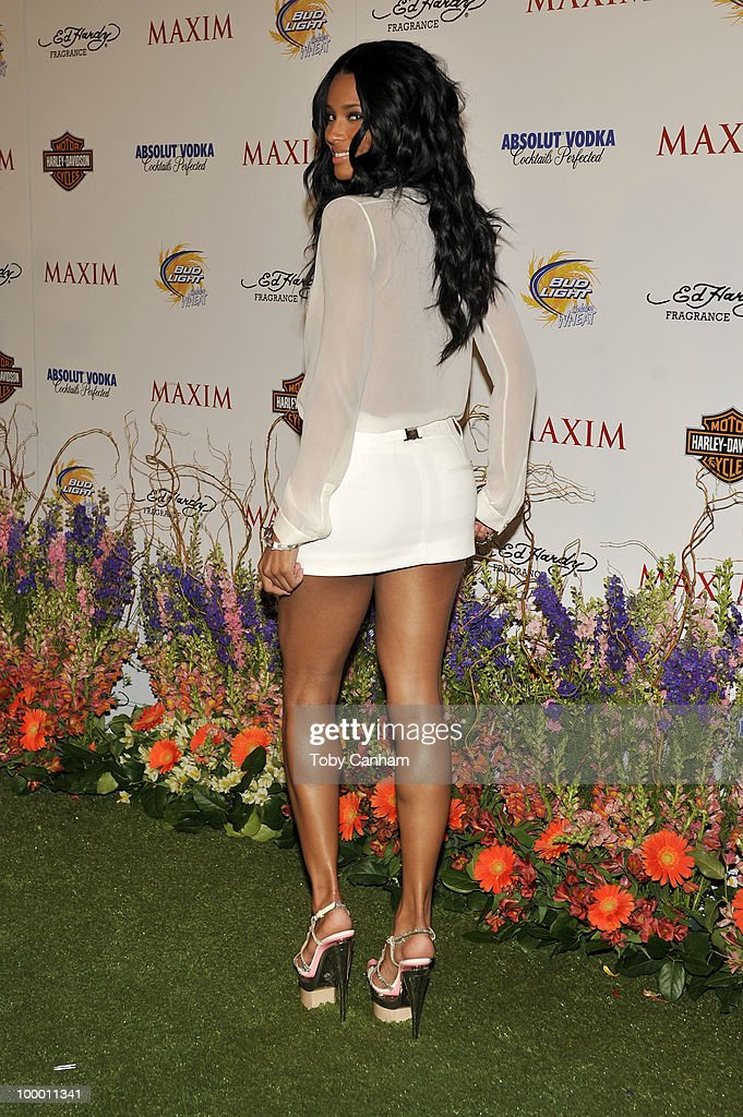 Ciara poses for a picture at the 11th Annual Maxim Hot 100 Party on May 19, 2010 in Los Angeles, California.