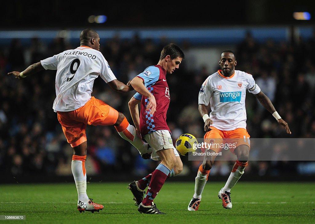 Aston Villa v Blackpool - Premier League
