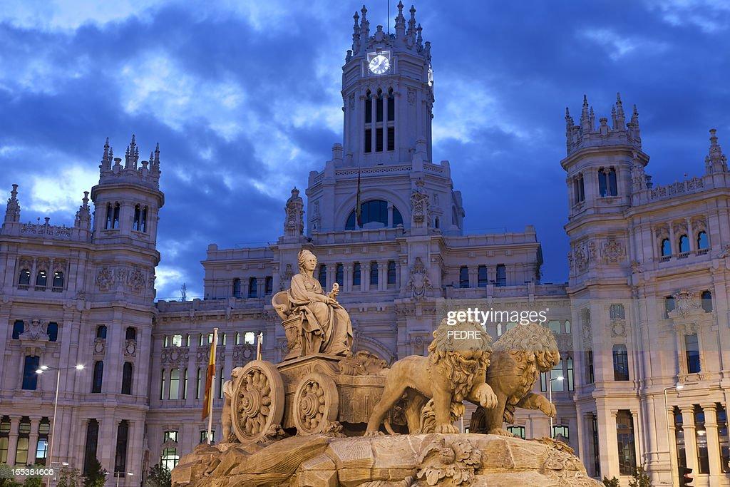 Cibeles Square, Madrid : Foto de stock