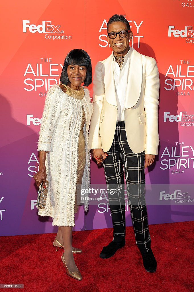 Cicely Tyson and B Michael attend the 2016 Ailey Spirit Gala at David H Koch Theater at Lincoln Center on June 8 2016 in New York City