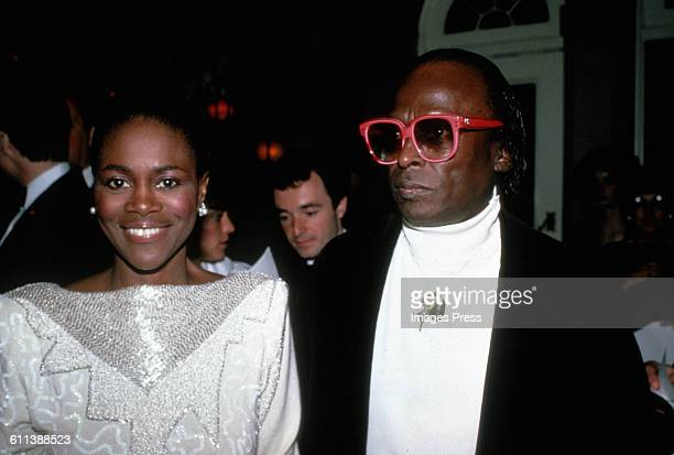 Cicely Tyson and Miles Davis circa 1983 in New York City