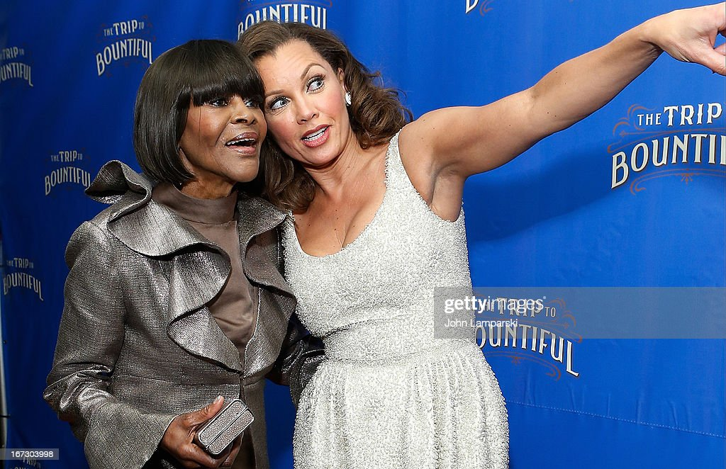 <a gi-track='captionPersonalityLinkClicked' href=/galleries/search?phrase=Cicely+Tyson&family=editorial&specificpeople=211450 ng-click='$event.stopPropagation()'>Cicely Tyson</a> and Vanessa Williams attend the 'The Trip To Bountiful' Broadway Opening Night after party at Copacabana on April 23, 2013 in New York City.