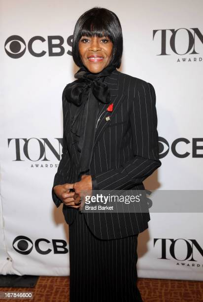 Cicely Tyson attends the 2013 Tony Awards Meet The Nominees Press Reception on May 1 2013 in New York City