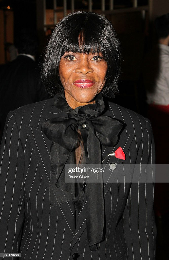 Cicely Tyson attends the 2013 Tony Awards: The Meet The Nominees Press Junket at the Millenium Hilton on May 1, 2013 in New York City.
