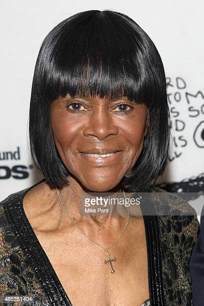 Cicely Tyson attends the 2015 Children's Defense Fund Beat The Odds Gala at The Pierre Hotel on March 4 2015 in New York City