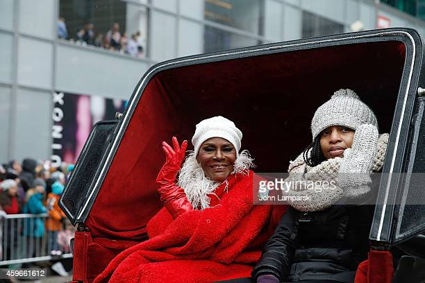 Cicely Tyson attends the 88th Annual Macys Thanksgiving Day Parade at on November 27 2014 in New York New York