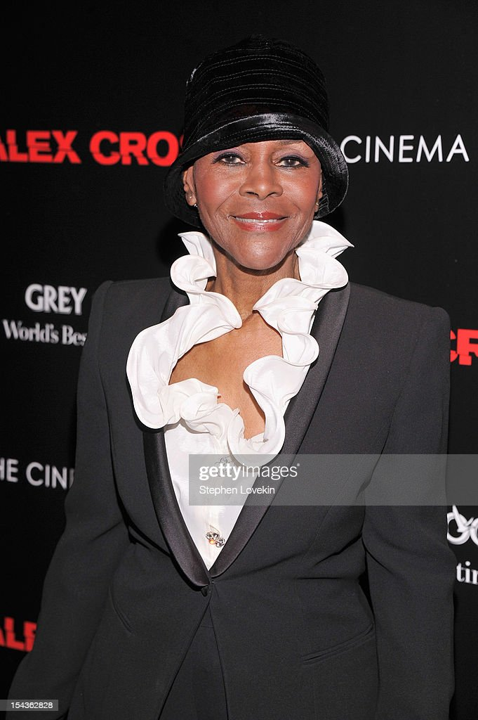 Cicely Tyson attends The Cinema Society & Grey Goose Host A Screening Of 'Alex Cross' at Tribeca Grand Hotel on October 18, 2012 in New York City.
