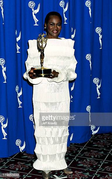 Cicely Tyson during 1993 Emmy Awards Press Room in Los Angeles CA United States