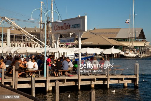 cicerellos fish n chips restaurant at fishing boat harbour. Black Bedroom Furniture Sets. Home Design Ideas