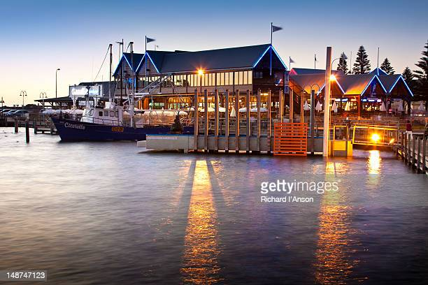 Cicerello's Fish 'N Chips restaurant at Fishing Boat Harbour.