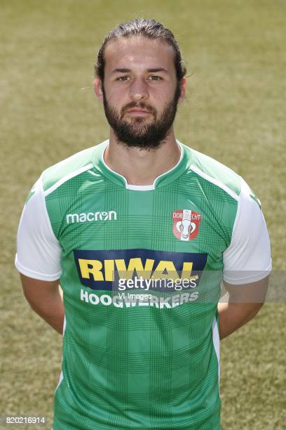 Cicero Dazzi Bobbio during the team presentation of Fc Dordrecht on July 21 2017 at the Riwal Hoogwerkers Stadium in Dordrecht The Netherlands