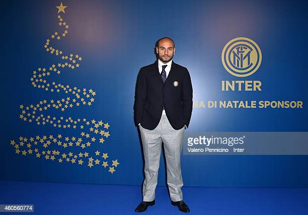 Cicero Moreira Jonathan of FC Internazionale Milano attends the FC Internazionale Sponsor's Christmas Party on December 16 2014 in Milano Italy