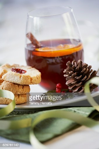 Cider and Cookies : Stock Photo