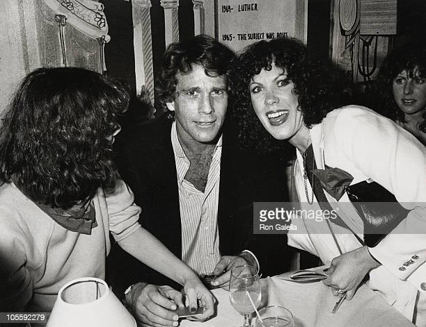 Cidney Cort Ryan O'Neal and Betty Galella during 'Knockout' Opening Party at Backstage Restaurant in New York City New York United States