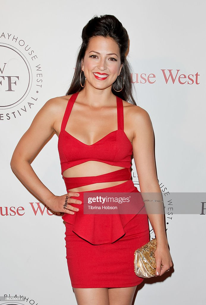 Ciera Parrack attends the 17th annual Playhouse West Film Festival 'Daisy's' premiere at El Portal Theatre on September 7, 2013 in North Hollywood, California.