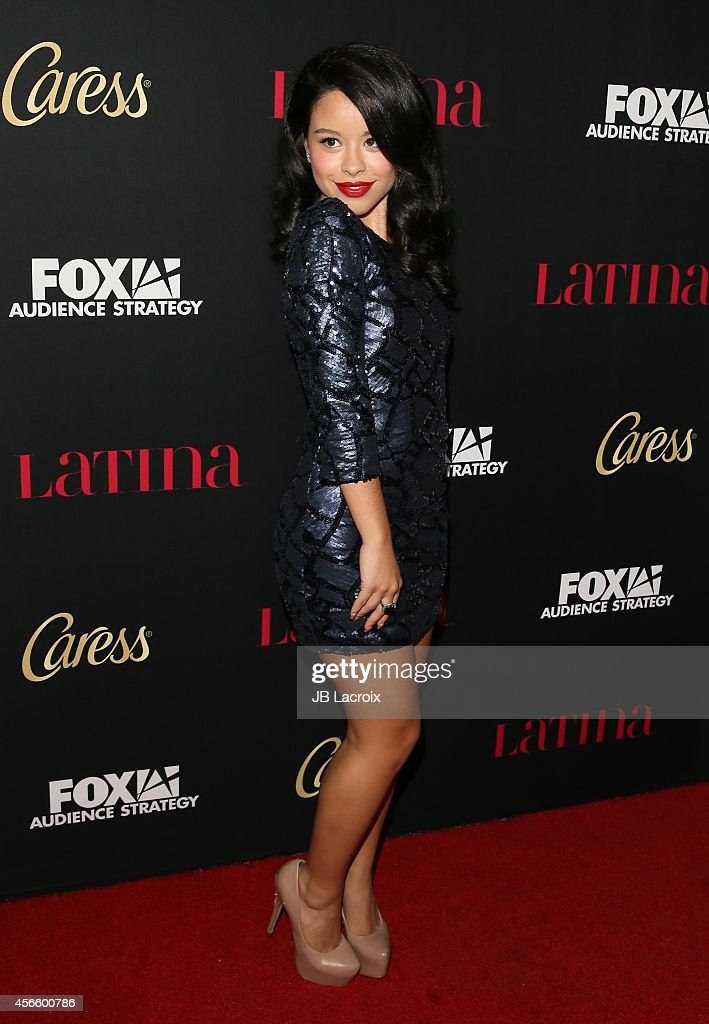 Cierra Ramirez attends LATINA Magazine's 'Hollywood Hot List' party at the Sunset Tower Hotel on October 2 2014 in West Hollywood California