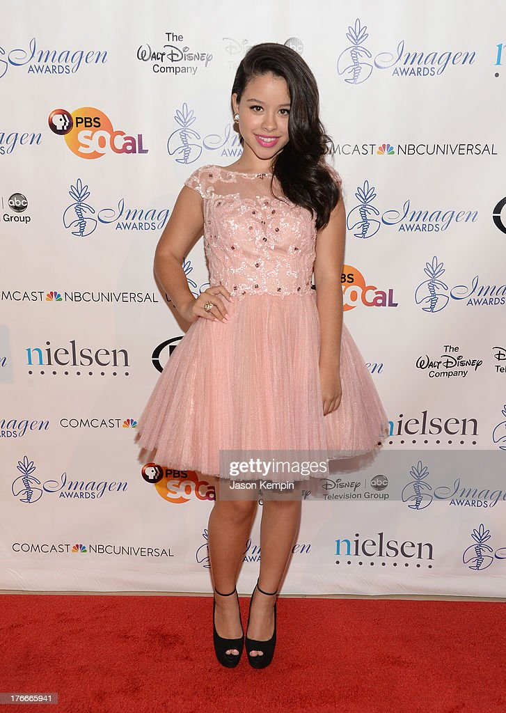<a gi-track='captionPersonalityLinkClicked' href=/galleries/search?phrase=Cierra+Ramirez&family=editorial&specificpeople=6558515 ng-click='$event.stopPropagation()'>Cierra Ramirez</a> attends the 28th Annual Imagen Awards at The Beverly Hilton Hotel on August 16, 2013 in Beverly Hills, California.