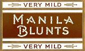 Cigar Box Graphics Manila Blunts