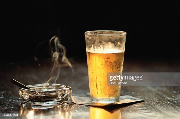 Cigarette and Beer