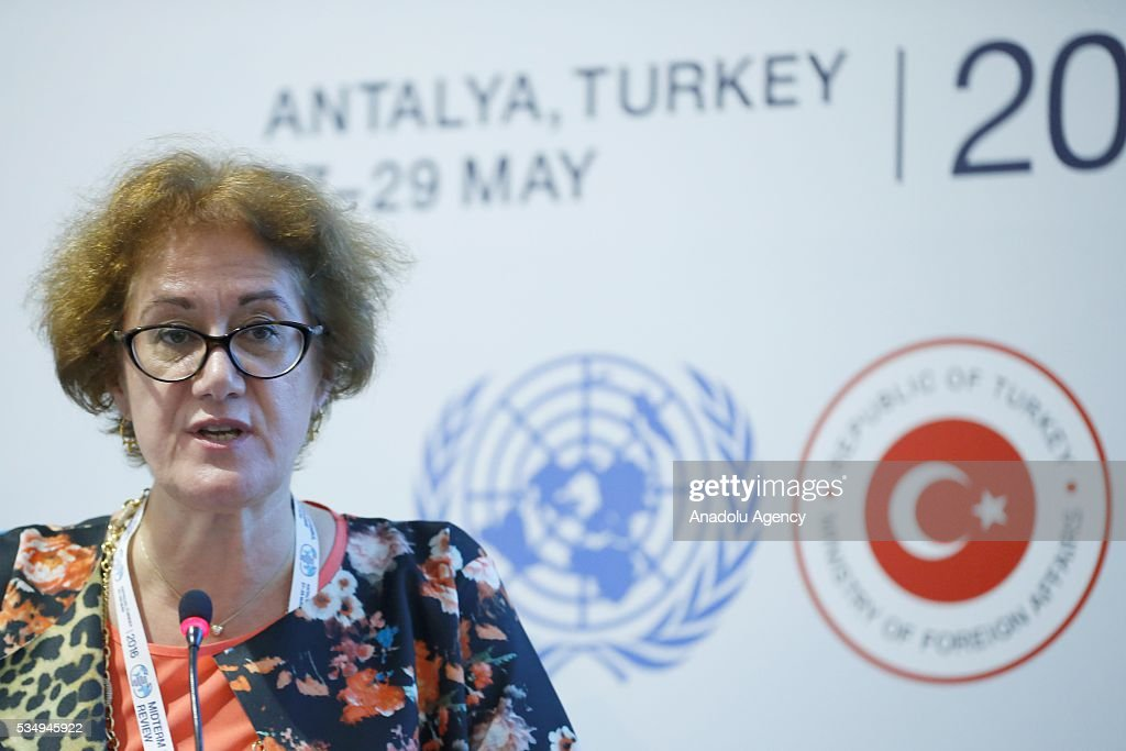 Cihan Sultanoglu, Assistant Administrator and Director of the Regional Bureau for Europe and the Commonwealth of Independent States, takes part in the event under the title ''Getting to the Last Mile: A discussion on Lessons Learned'' within the Midterm Review of the Istanbul Programme of Action at Titanic Hotel in Antalya, Turkey on May 28, 2016. The Midterm Review conference for the Istanbul Programme of Action for the Least Developed Countries takes place in Antalya, Turkey from 27-29 May 2016.