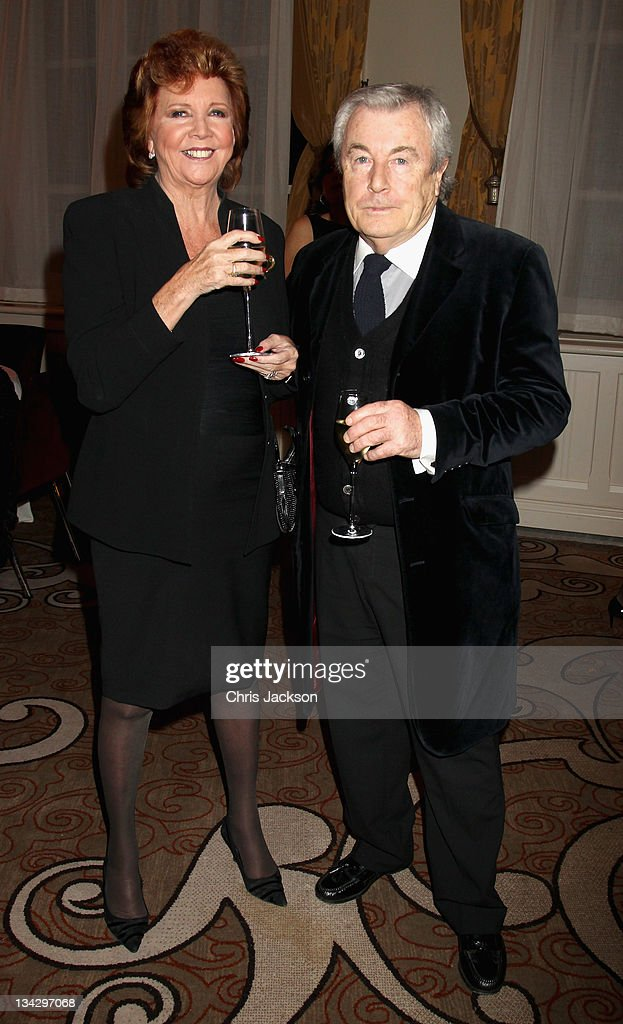 Cilla Black and Terry O'Neil attend Hidden Gems Photography Gala Auction in support of Variety Club at St Pancras Renaissance Hotel on November 30, 2011 in London, England.