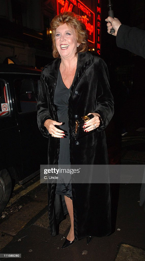 Cilla Black during Celebrity Sightings at The Ivy in London - March 8, 2006 at Ivy Restaurant in London, Great Britain.