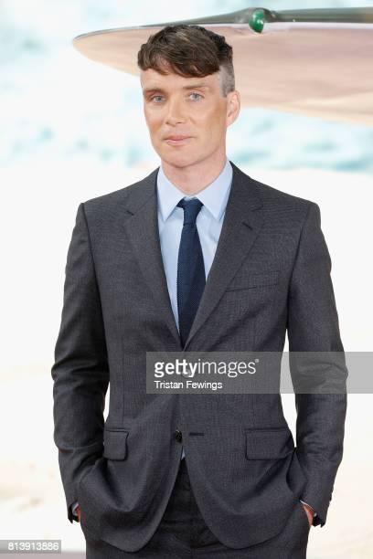 Cillian Murphy arrives at the 'Dunkirk' World Premiere at Odeon Leicester Square on July 13 2017 in London England