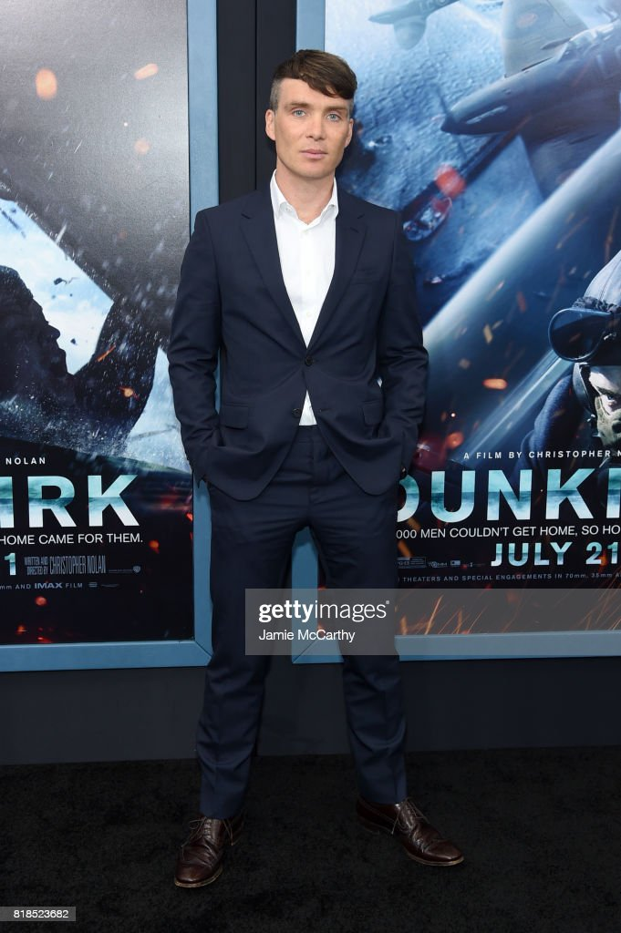 Cillian Murphy attends the 'DUNKIRK' New York Premiere on July 18, 2017 in New York City.
