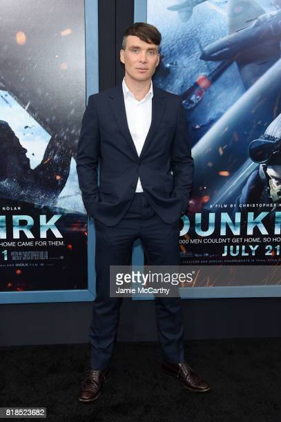 Cillian Murphy attends the 'DUNKIRK' New York Premiere on July 18 2017 in New York City