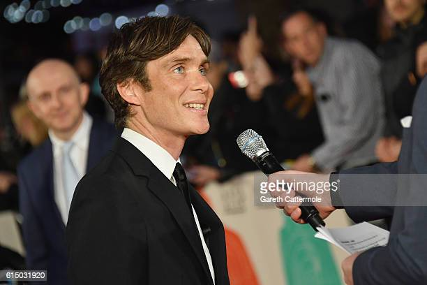 Cillian Murphy attends the 'Free Fire' Closing Night Gala screening during the 60th BFI London Film Festival at Odeon Leicester Square on October 16...