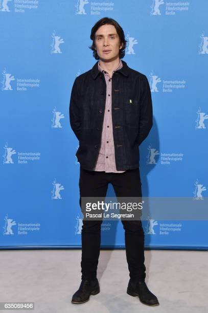 Cillian Murphy attends the 'The Party' photo call during the 67th Berlinale International Film Festival Berlin at Grand Hyatt Hotel on February 13...