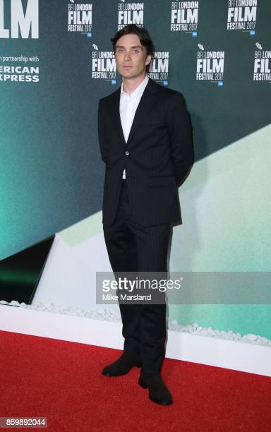Cillian Murphy attends the UK Premiere of 'The Party' during the 61st BFI London Film Festival on October 10 2017 in London England