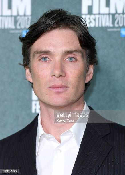 Cillian Murphy attends the UK Premiere of 'The Party' during the 61st BFI London Film Festival at Embankment Gardens Cinema on October 10 2017 in...