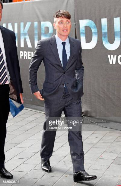 Cillian Murphy attends the World Premiere of 'Dunkirk' at Odeon Leicester Square on July 13 2017 in London England