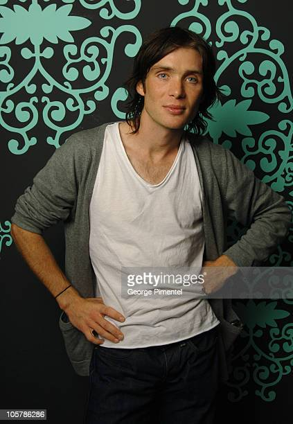 Cillian Murphy during 2005 Toronto Film Festival 'Breakfast on Pluto' Portraits at HP Portrait Studio in Toronto Canada