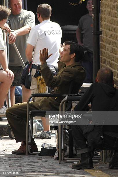 Cillian Murphy during Cillian Murphy on Location for The Edge of Love June 5 2007 at London in London Great Britain