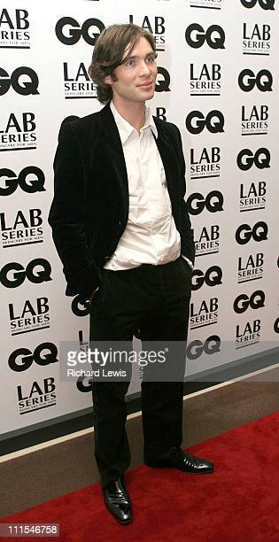 Cillian Murphy during GQ Men of the Year Awards Inside Arrivals at Royal Opera House in London Great Britain