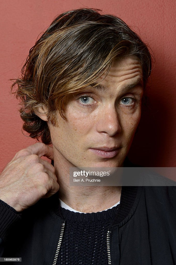 Cillian Murphy poses for photographs before introducing his BFI Screen Epiphany 'Scarecrow' at BFI Southbank on October 26, 2013 in London, England.