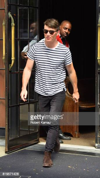 Cillian Murphy seen out in Manhattan on July 19 2017 in New York City