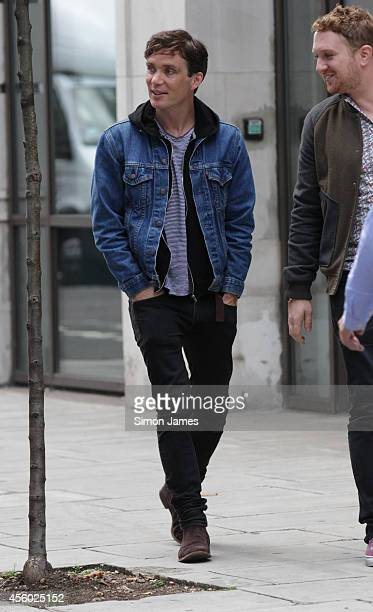 Cillian Murphy sighting at the BBC on September 24 2014 in London England