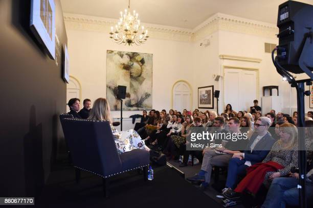 Cillian Murphy Steven Knight and Edith Bowman during an An Evening with Steven Knight and Cillian Murphy from Peaky Blinders at Esquire Townhouse...