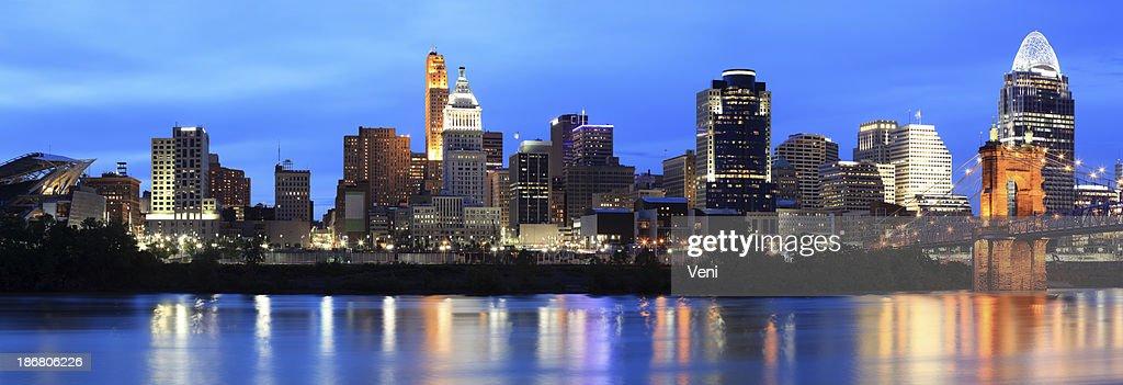'Cincinnati Skyline, Ohio'