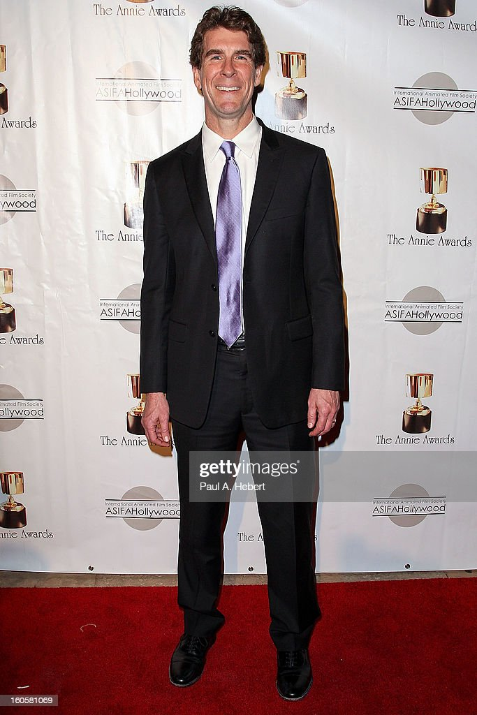 Cinco Paul arrives at the 40th Annual Annie Awards held at Royce Hall on the UCLA Campus on February 2, 2013 in Westwood, California.