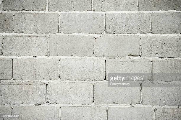 Cinderblock mur effets de fond gris Plein cadre